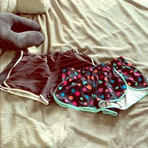 Set of volleyball shorts